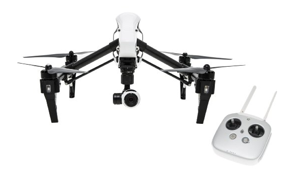 telecamera video 360 gradi youtube DJI Inspire 1